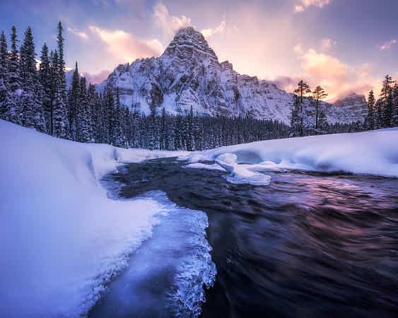 Canadian Rockies - Winter Magic by Daniel Fleischhacker