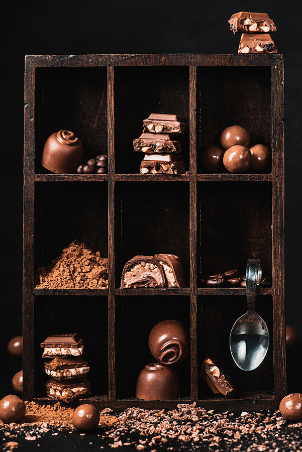 Photograph Chocolate collection by Dina (Food Photography) on 500px