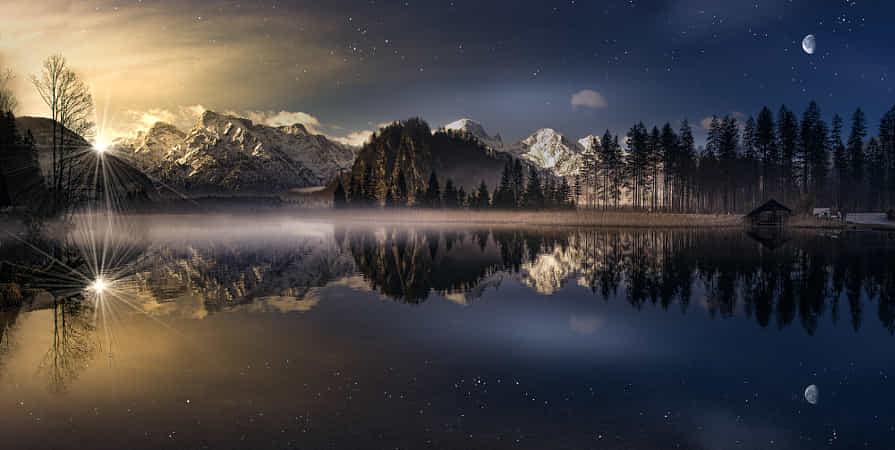 Sonne-Mond-Sterne by Friedrich Beren