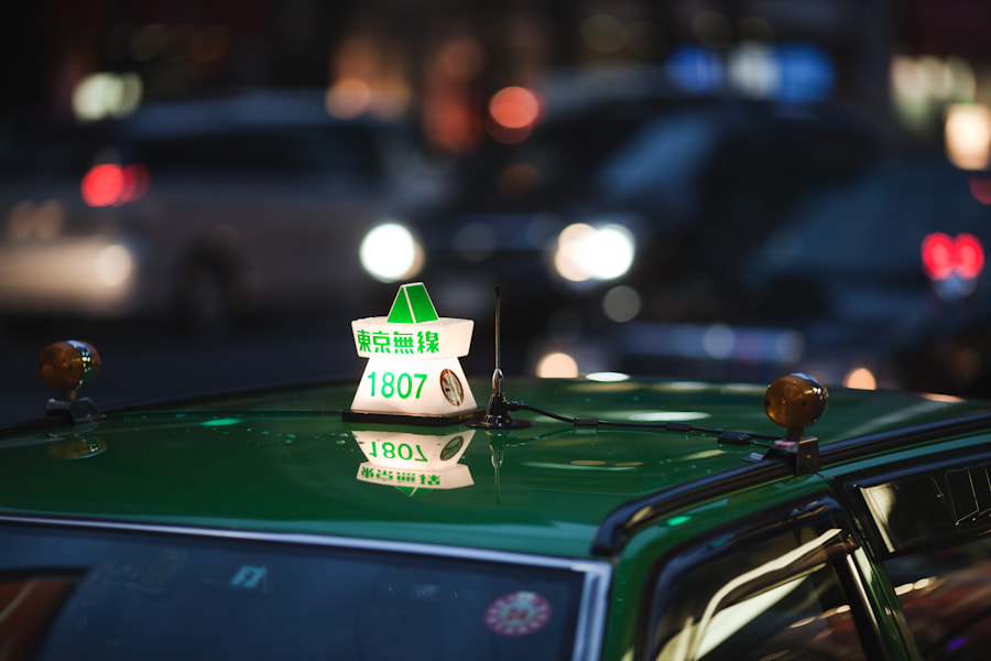 Photograph Tokyo Taxi  by Loic Labranche on 500px