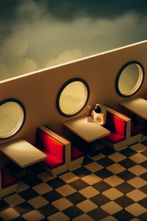 Space Diner by Hardi Saputra on 500px.com