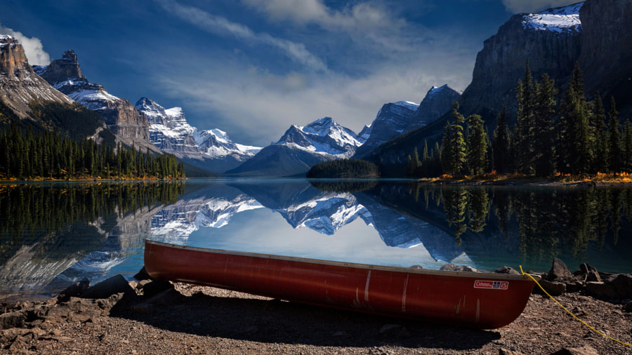 Magnificent Maligne Lake by Perry Hoag on 500px.com