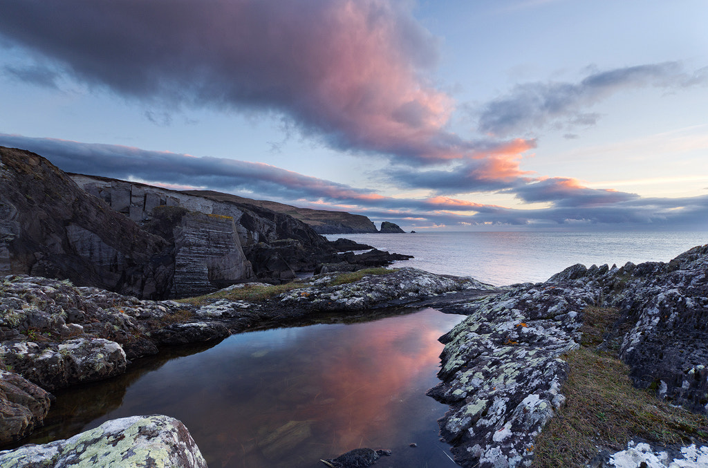 Photograph Dun Lough Pier Sunset by Conal Thomson on 500px