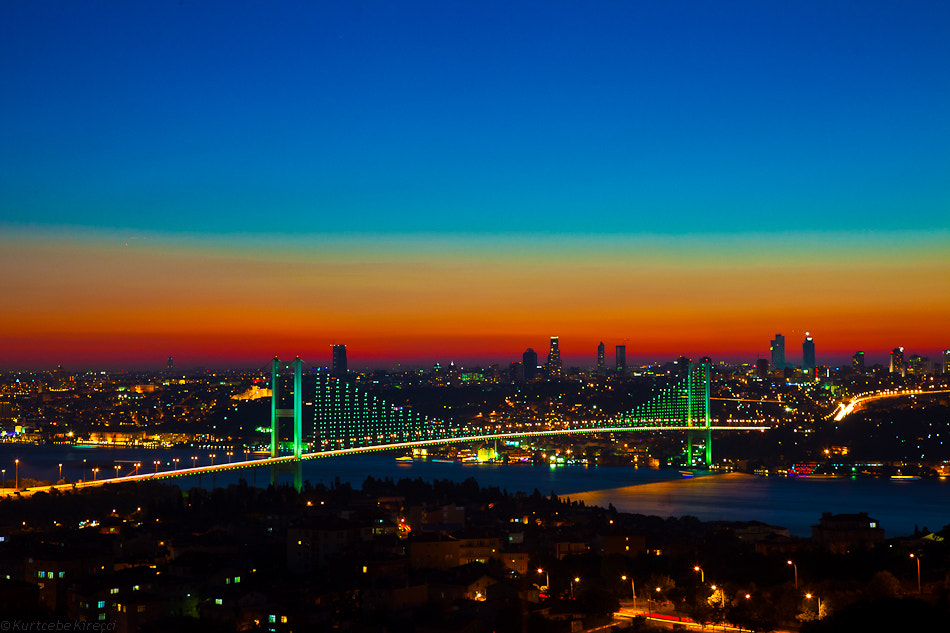 Photograph Istanbul Nights by kurtcebe kirecci on 500px