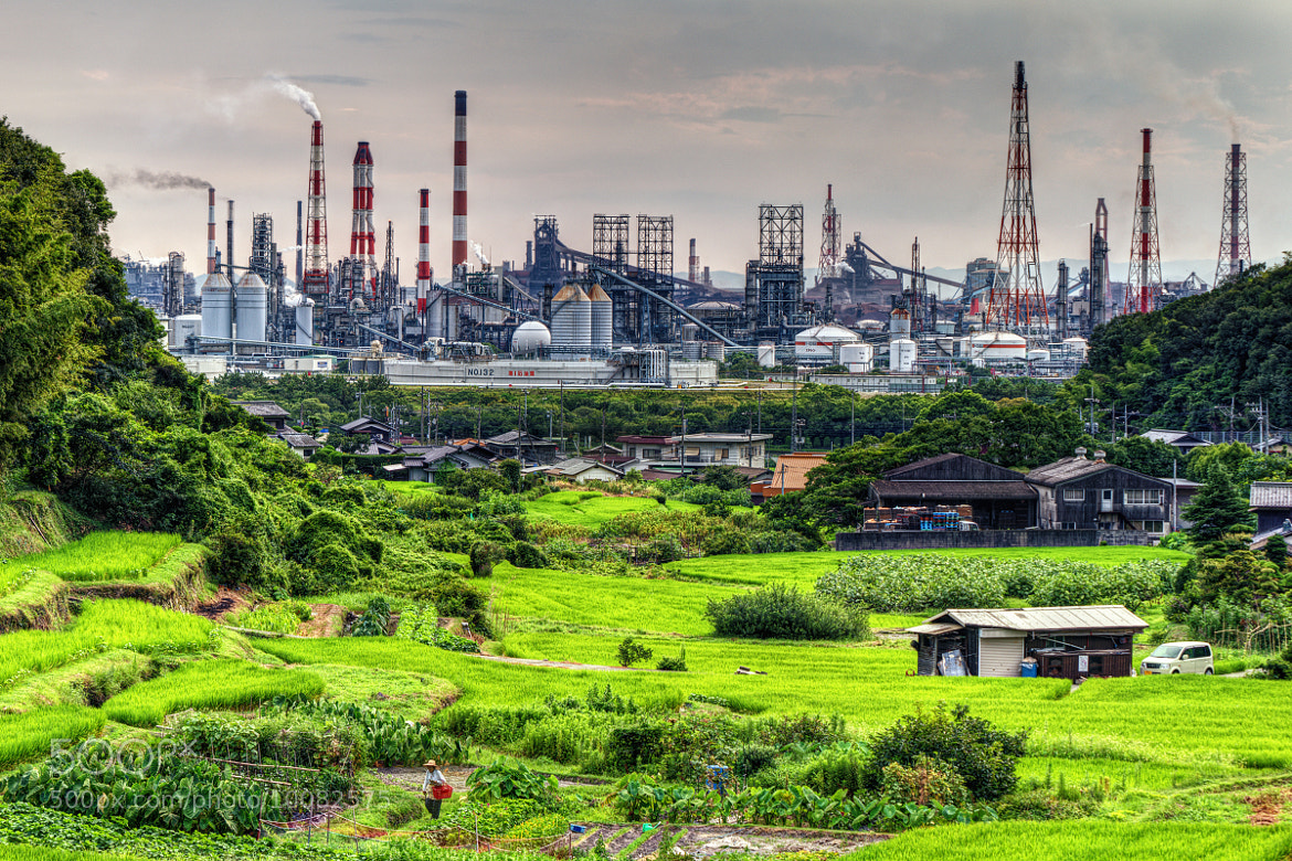 Photograph Mizushima Industrial complex by hiroshi ookura on 500px