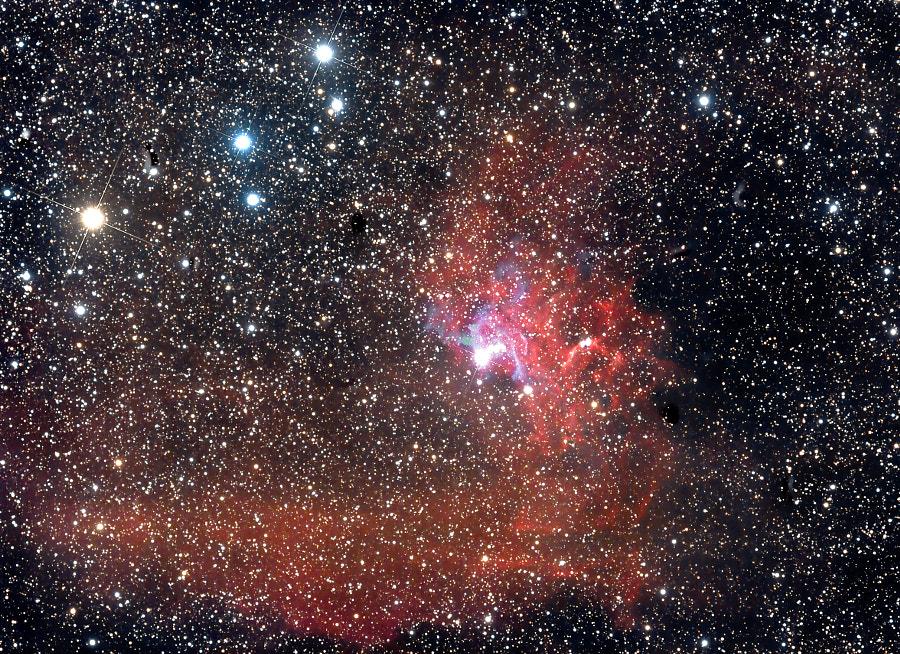 Flaminia Star Nebula IC405  by Simone Ippolito on 500px.com