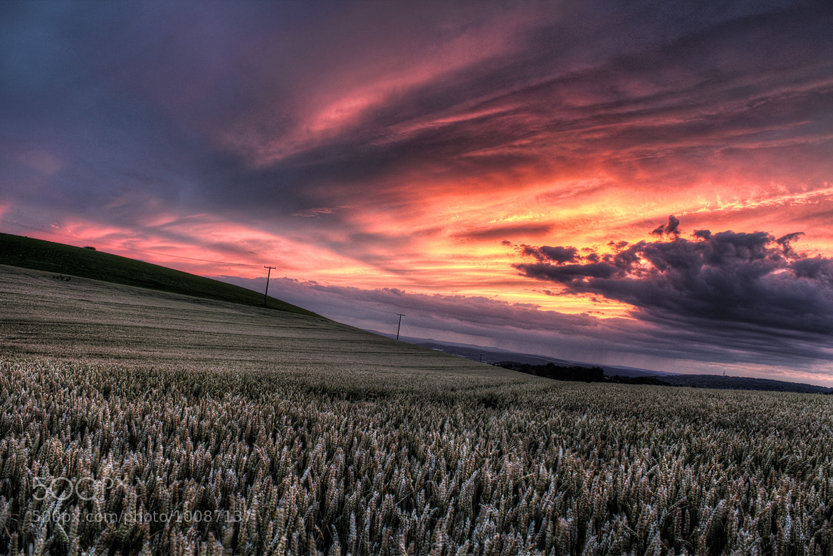 Photograph Sunset HDR by Wolfgang Voigt on 500px