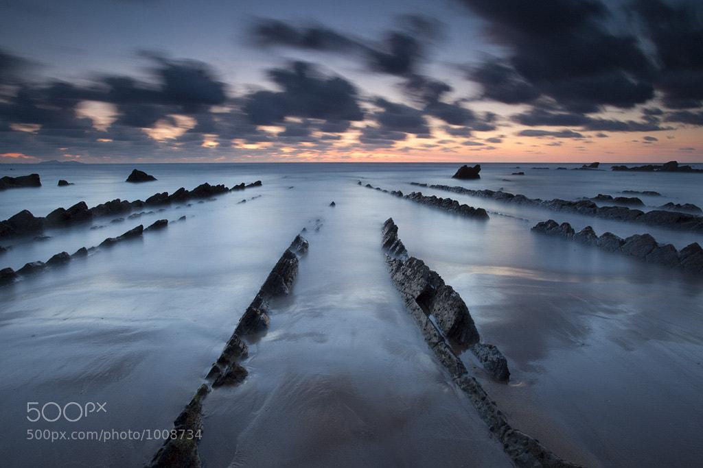 Photograph Barrika railway by Andoni Lamborena on 500px