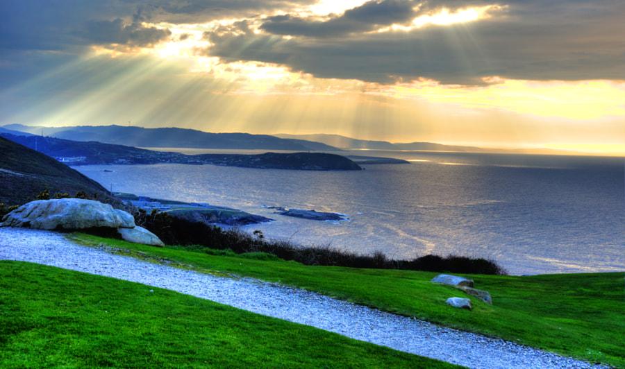 Puesta de sol desde el Parque de San Pedro by Artemio  on 500px.com