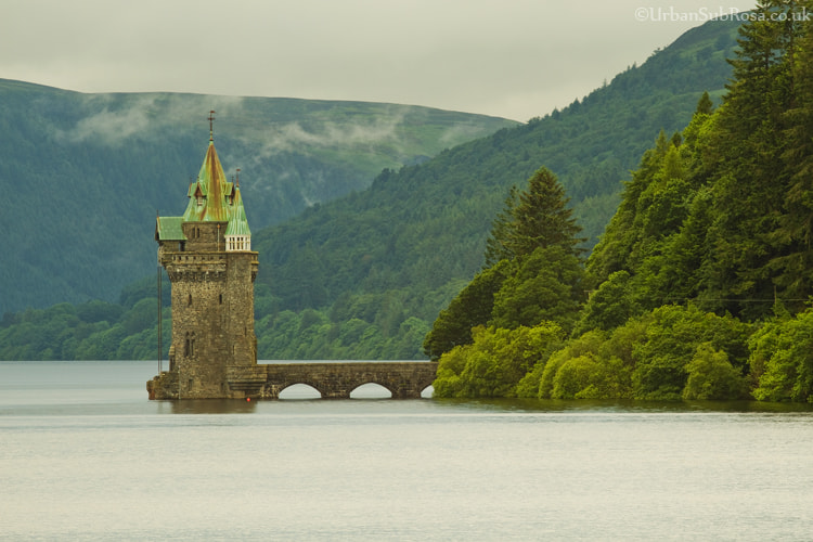 Photograph Vyrnwy dam by Brian Sayle on 500px