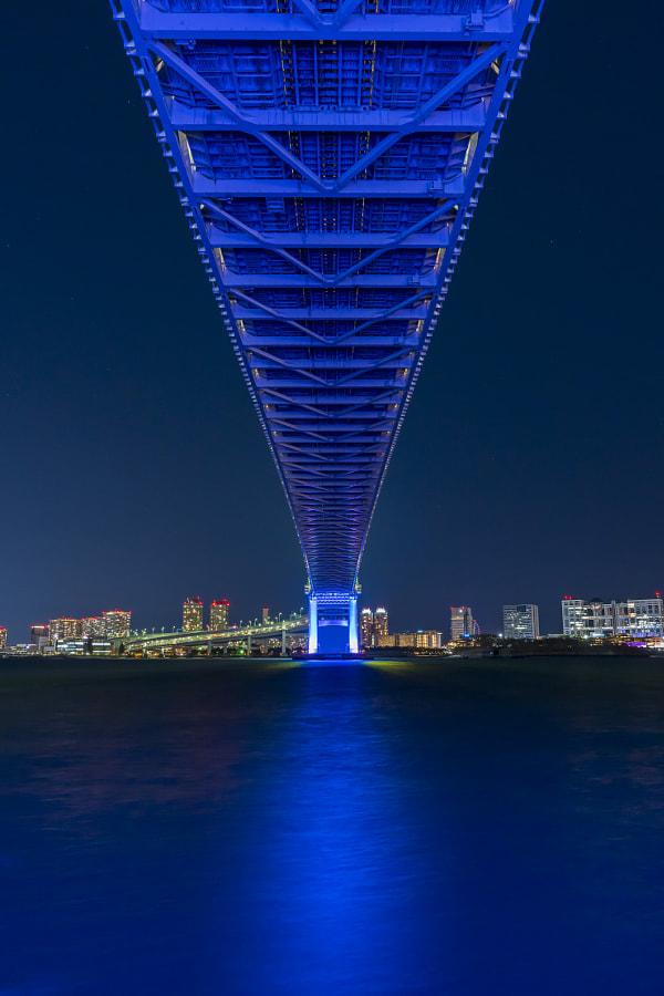 Neon Bridge by tatsushi yuasa on 500px.com