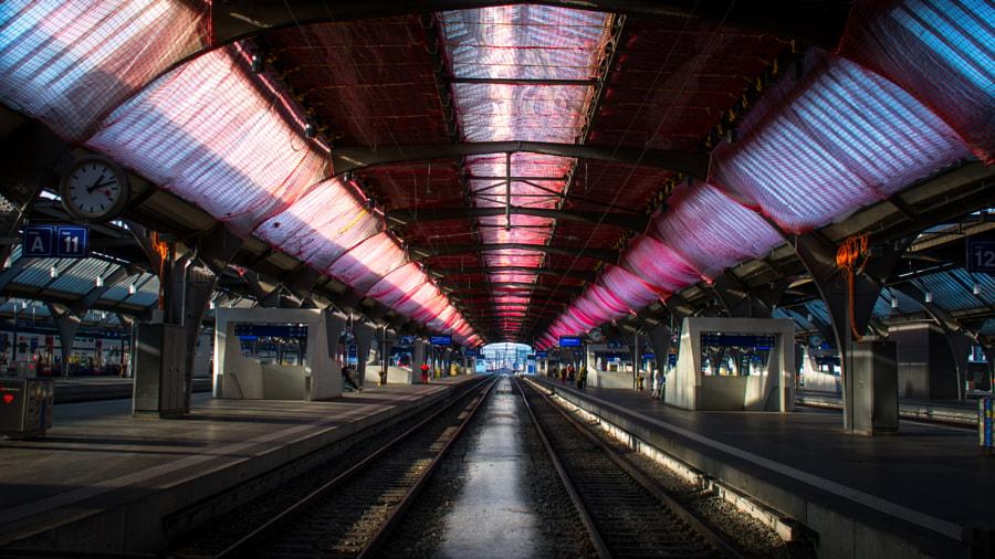 Zürich railway station by Kannappan sivakumar on 500px.com