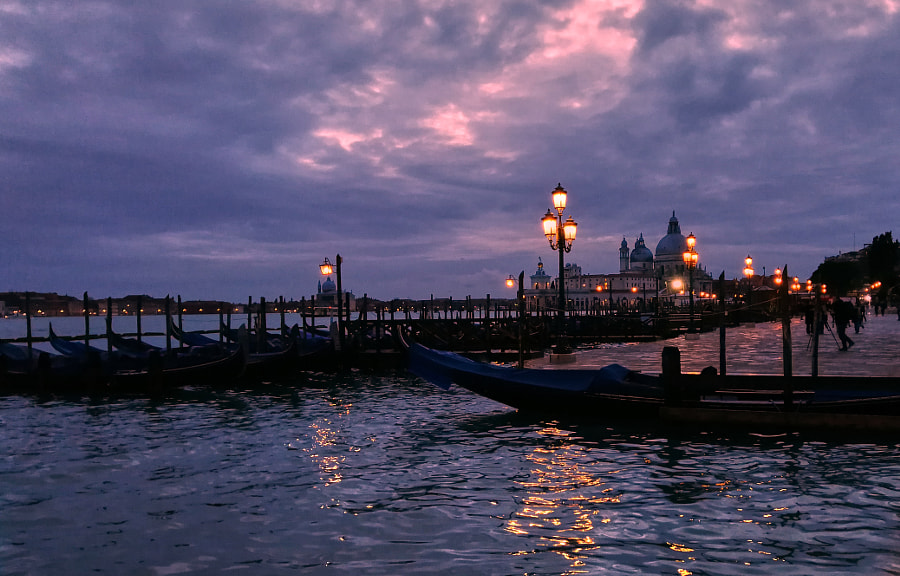 Venezia Tramonto  by Giuseppe Pino on 500px.com