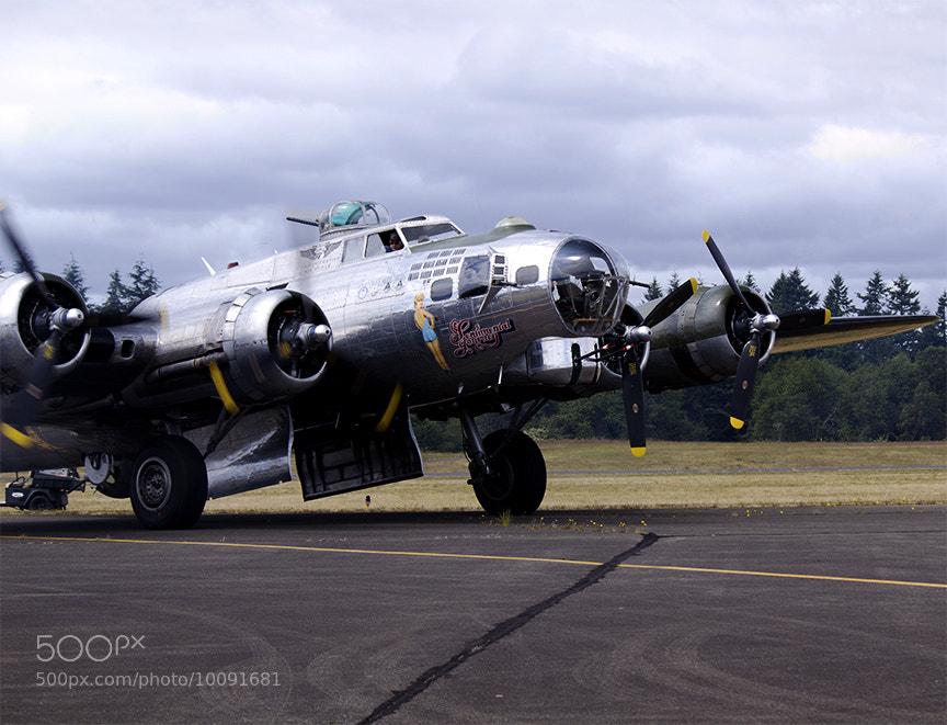 Photograph B-17 Sentimental Journey by Cascadian on 500px