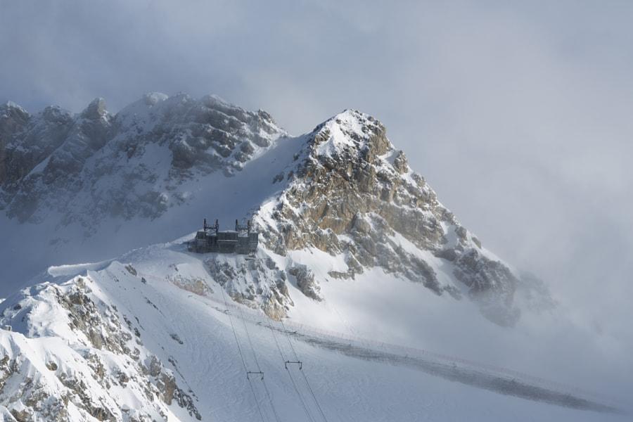 Ski Resort Cableway by Jure Batagelj on 500px.com