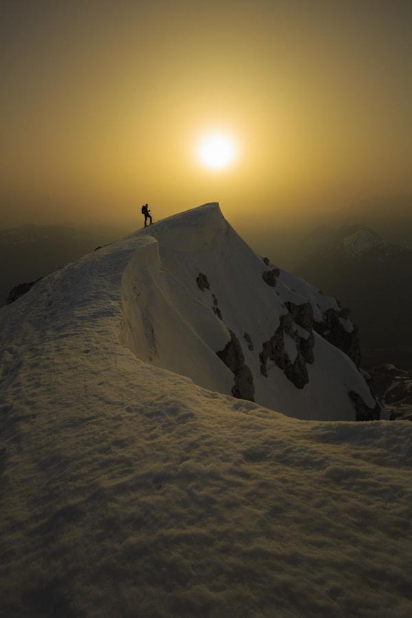 Mountain Peak at Sunset by Jure Batagelj on 500px.com