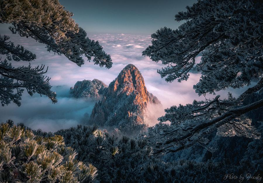 天外飞仙,黄山仙境 by Franky Wang  on 500px.com