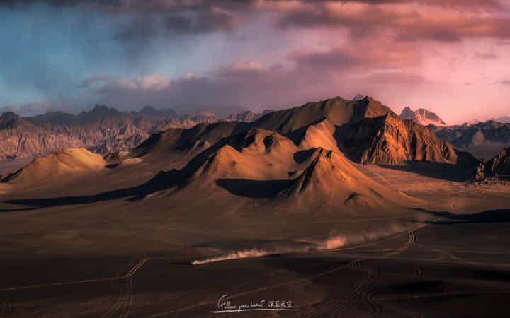 驰骋在火星 by 深蓝天空