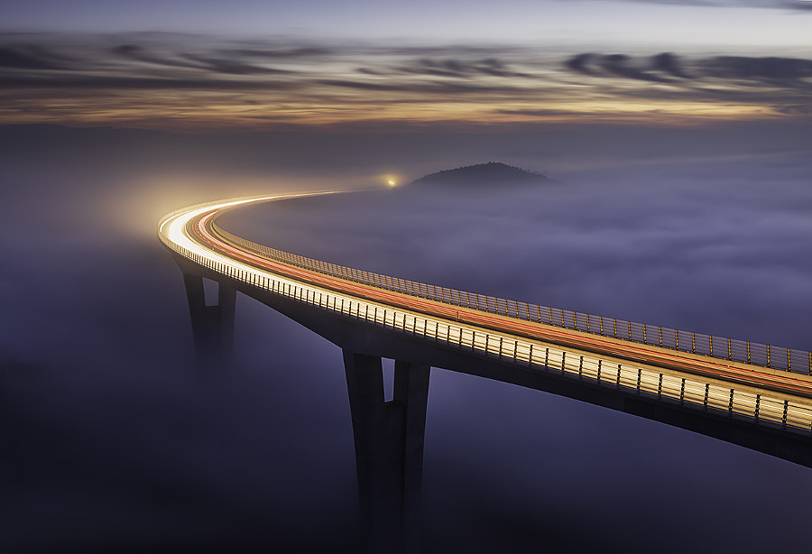 Highway to heaven. by Grega Gobovc on 500px.com
