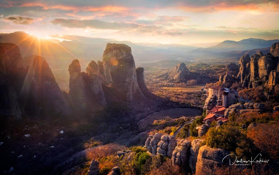 Meteora by Dimitris Koskinas on 500px.com