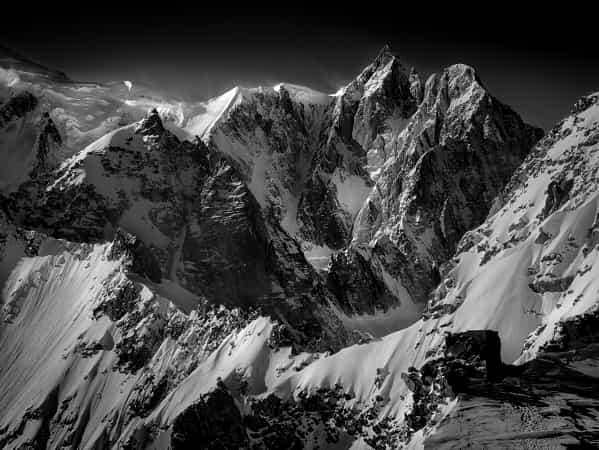 Monte Bianco. by Maxim K.