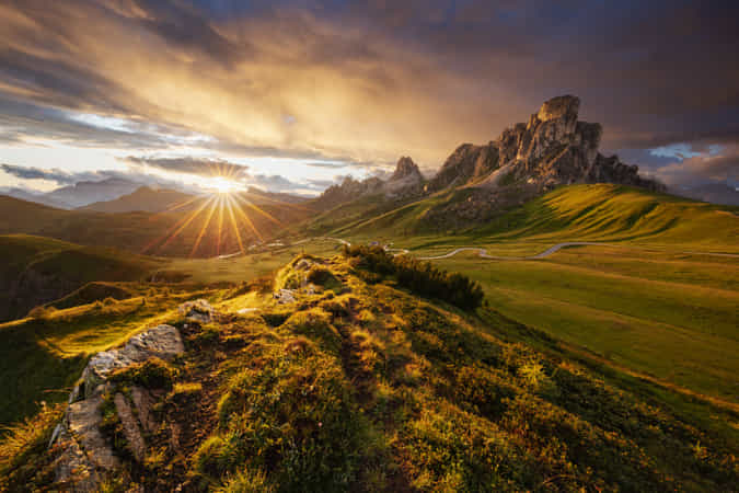 Mountain Drama by Martin Rak