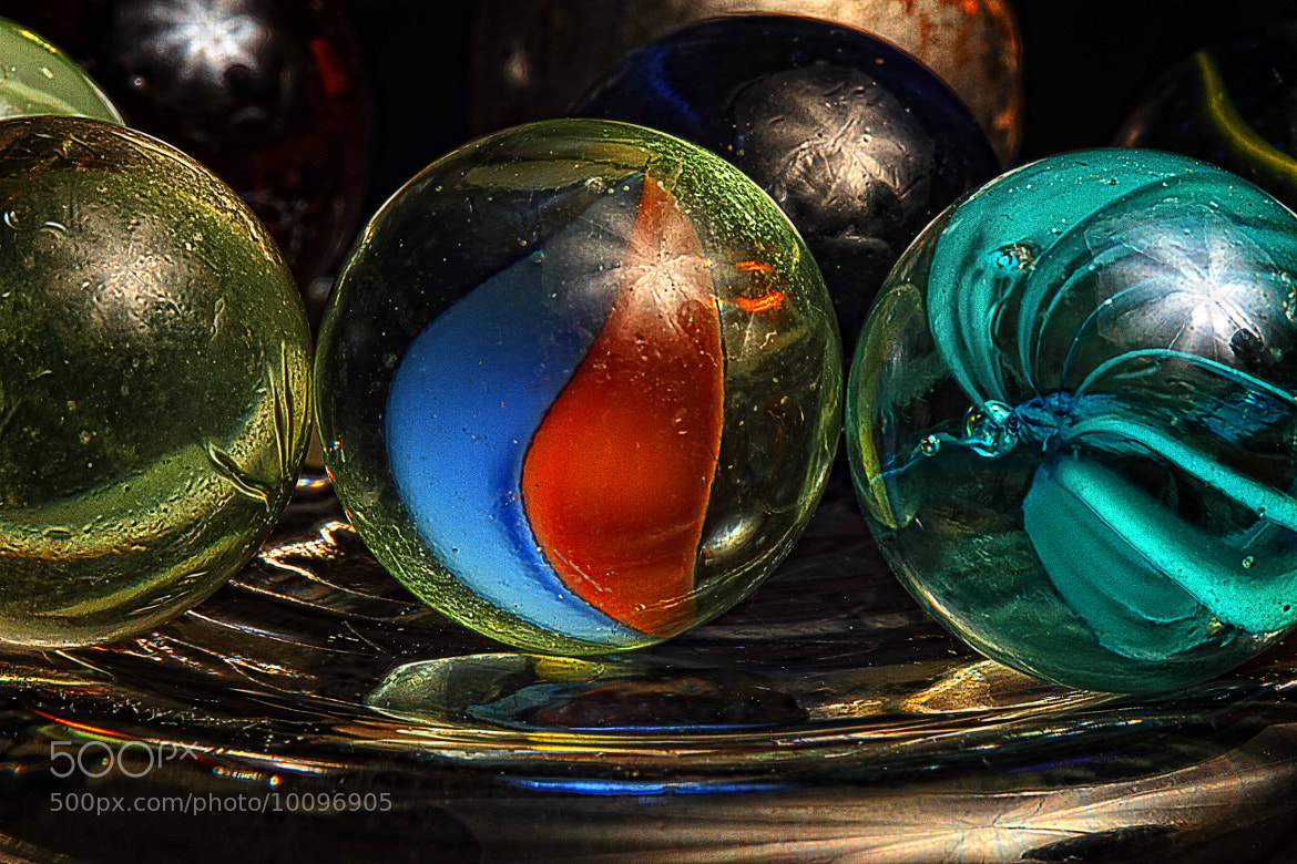 Photograph Marbles by Doug Deacy on 500px