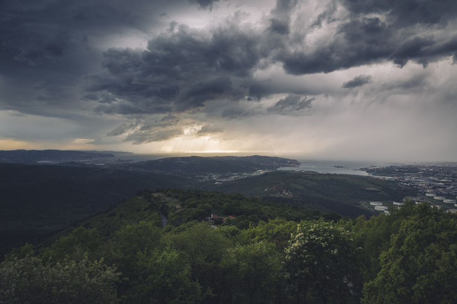 Storm View from Above by Jure Batagelj on 500px.com