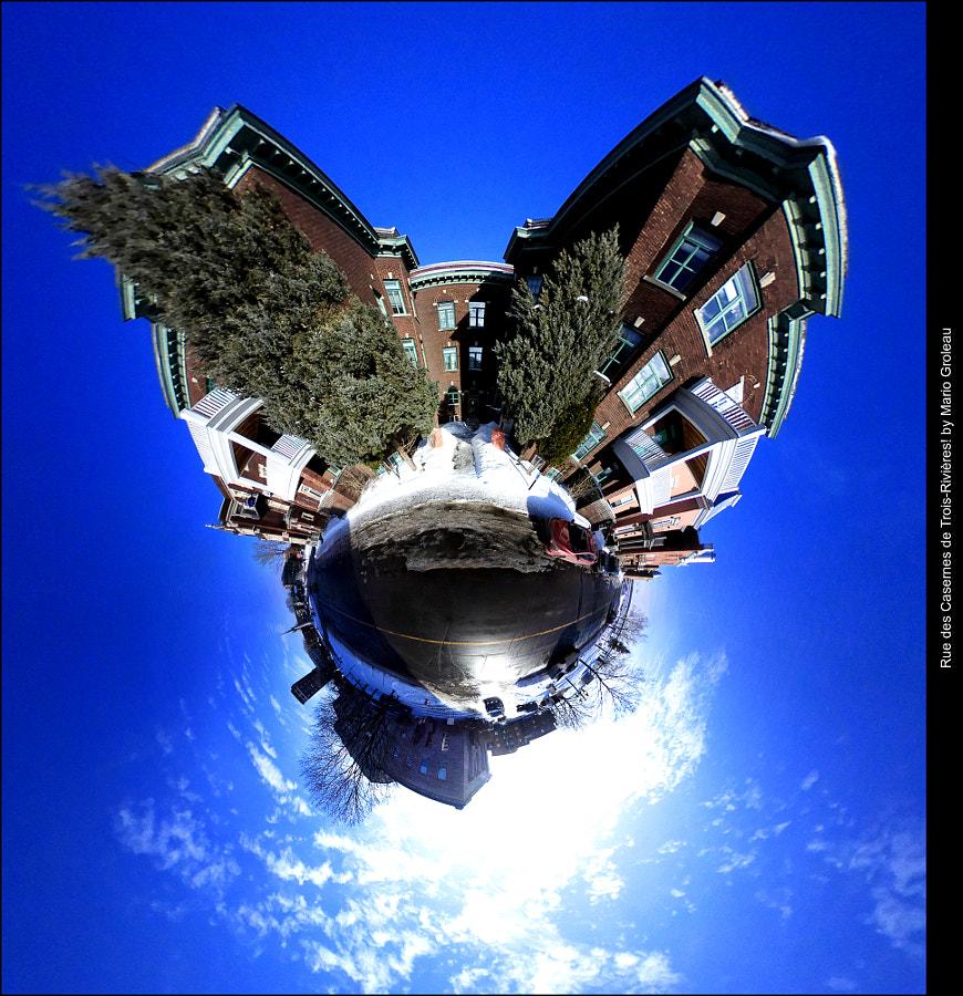 Rue des casernes, Trois-Rivières by Mario Groleau on 500px.com