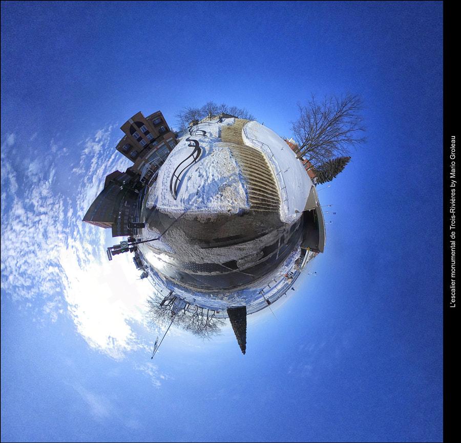 Escalier monumental de Trois-Rivières by Mario Groleau on 500px.com