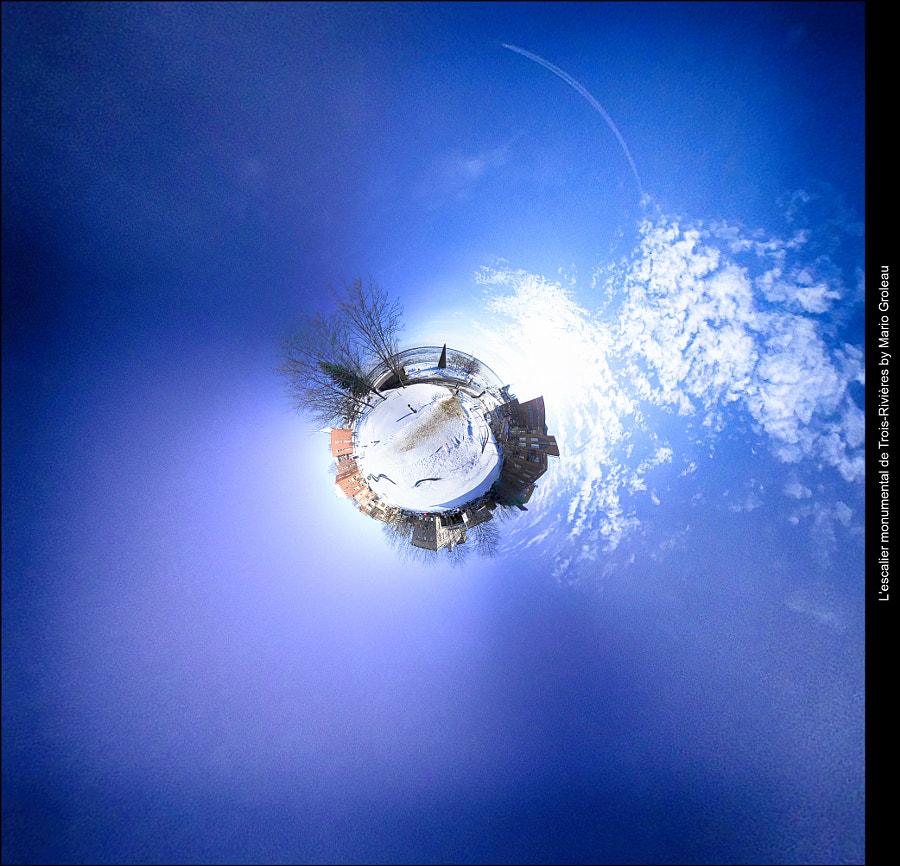 Vu d'en haut de l'escalier monumental de Trois-Rivières! by Mario Groleau on 500px.com