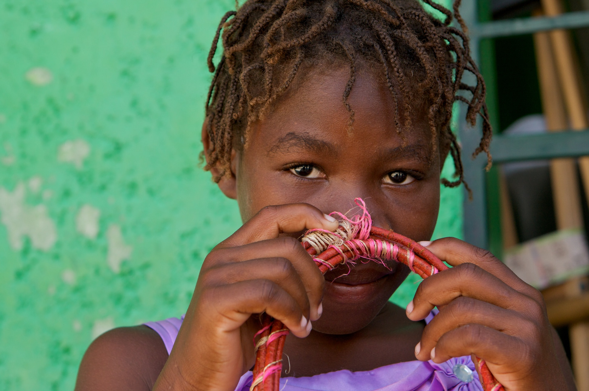 Photograph Haitian Girl by Travis Brown on 500px