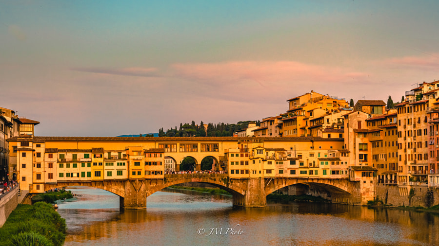 Ponte Vecchio by Javi Martinez on 500px.com