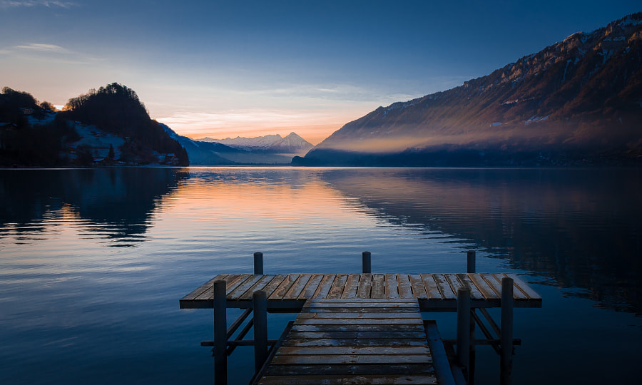 Photograph Interlaken Sunrise by Pat Kofahl on 500px