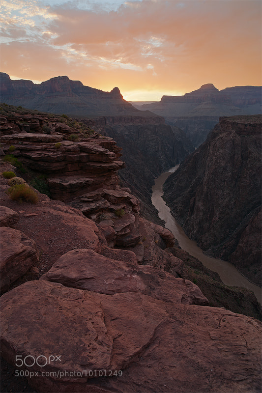 Photograph Plateau Point Sunset by Robert Domsic on 500px