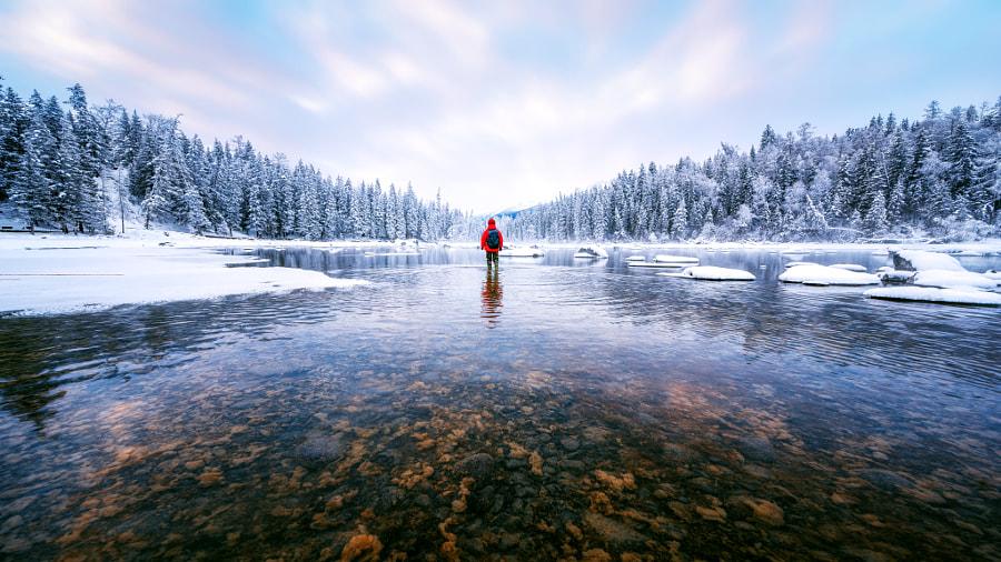 行走在雪国的世界 by yb超凡  on 500px.com