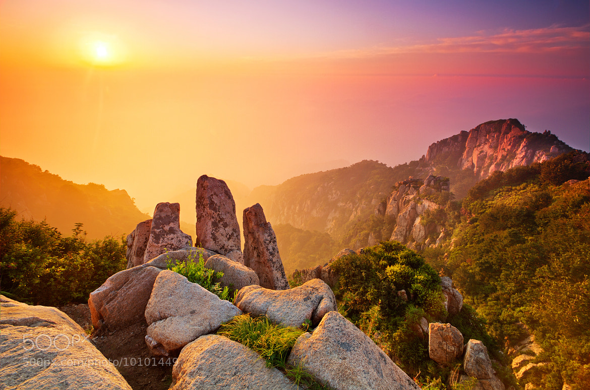 Photograph Sacred Sunrise by Michael Leung on 500px