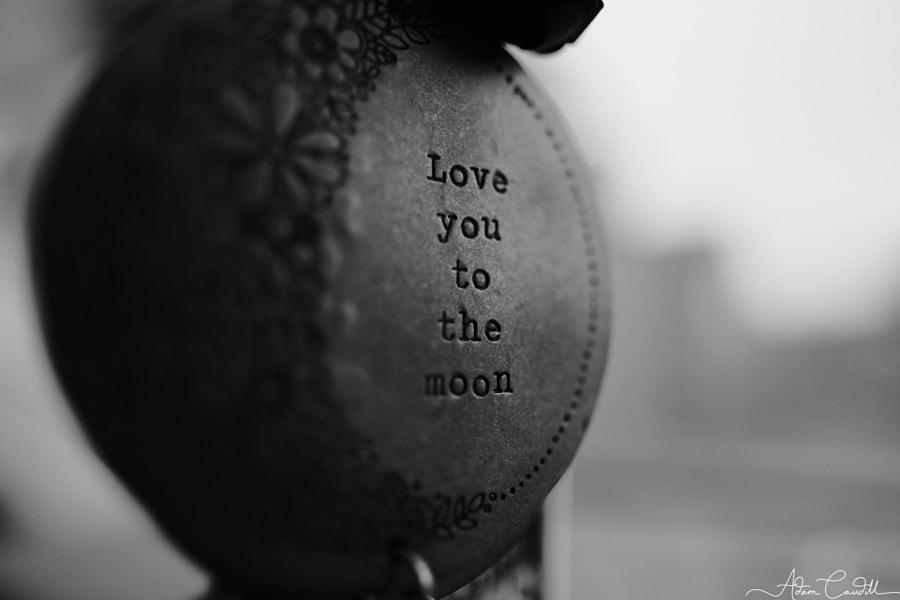 Love you to the moon... by Adam Caudill on 500px.com