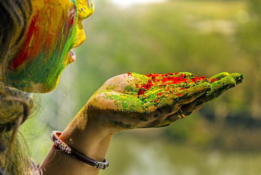 Holi Colors by Puneet Vikram Singh on 500px.com