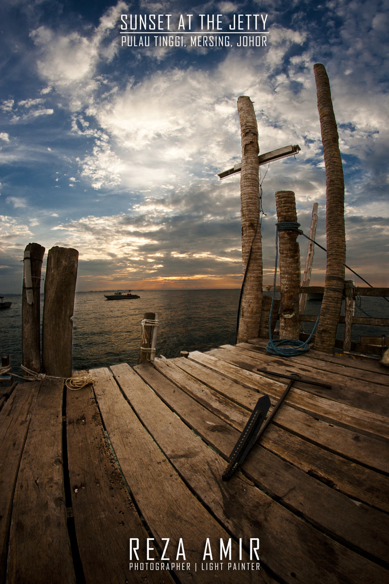 Photograph Sunset at the Jetty by Reza Amir on 500px