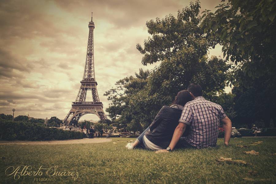 Paris Lovers by Alberto Suárez on 500px.com