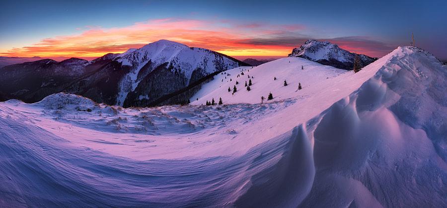 Winter mountain in Slovakia by Tomáš Šereda on 500px.com