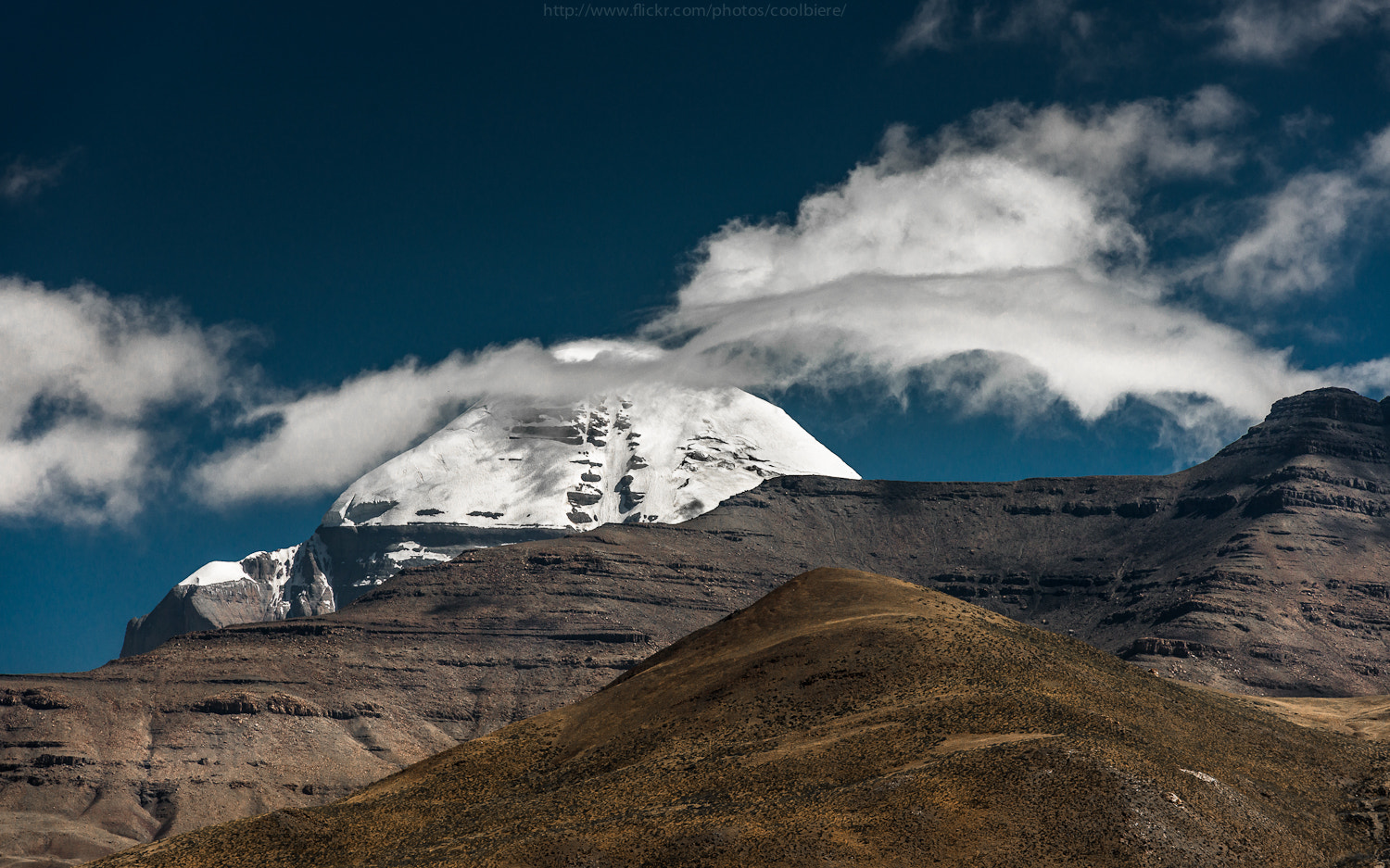 Photograph Mt. Kailash : Center of Universe by Coolbiere. A. on 500px