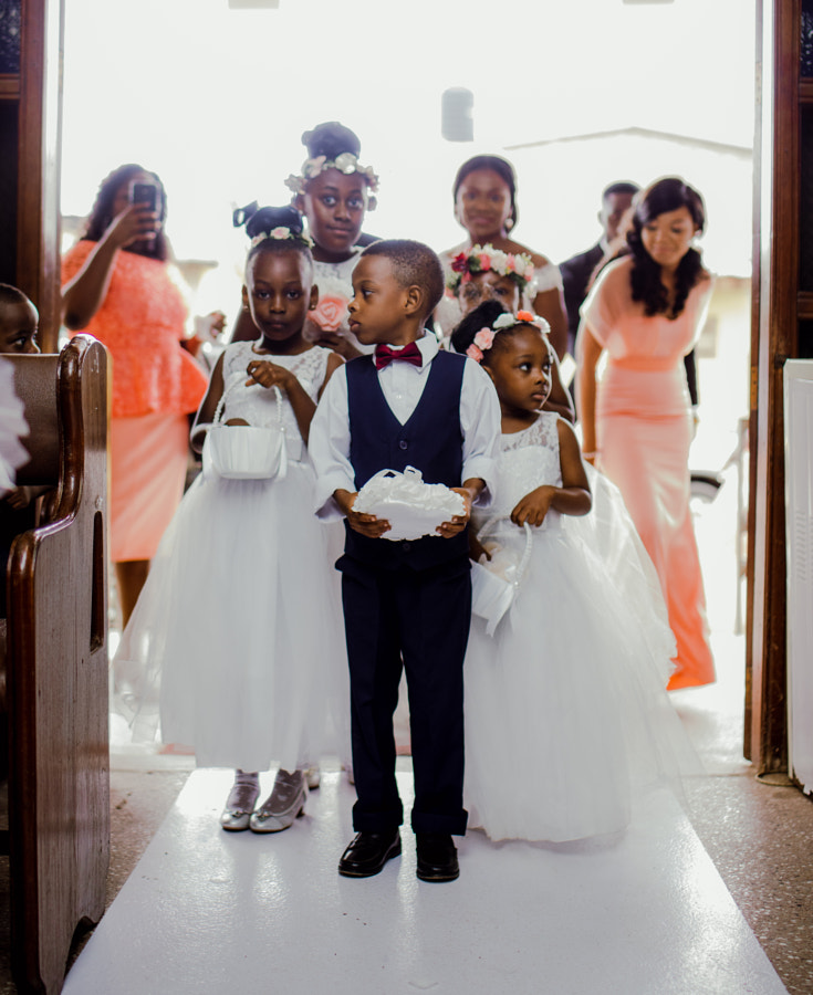 kids and wedding by Junior Asiama on 500px.com