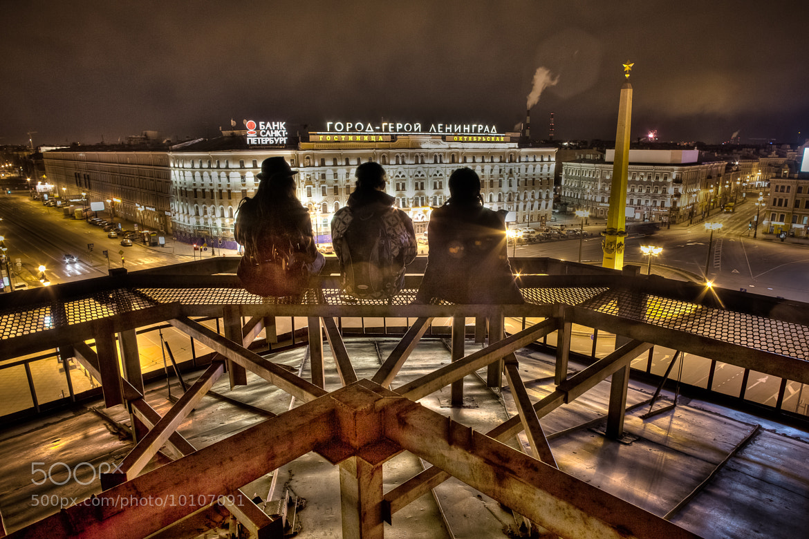 Photograph Night on the Roof by Roman Degtuarev on 500px