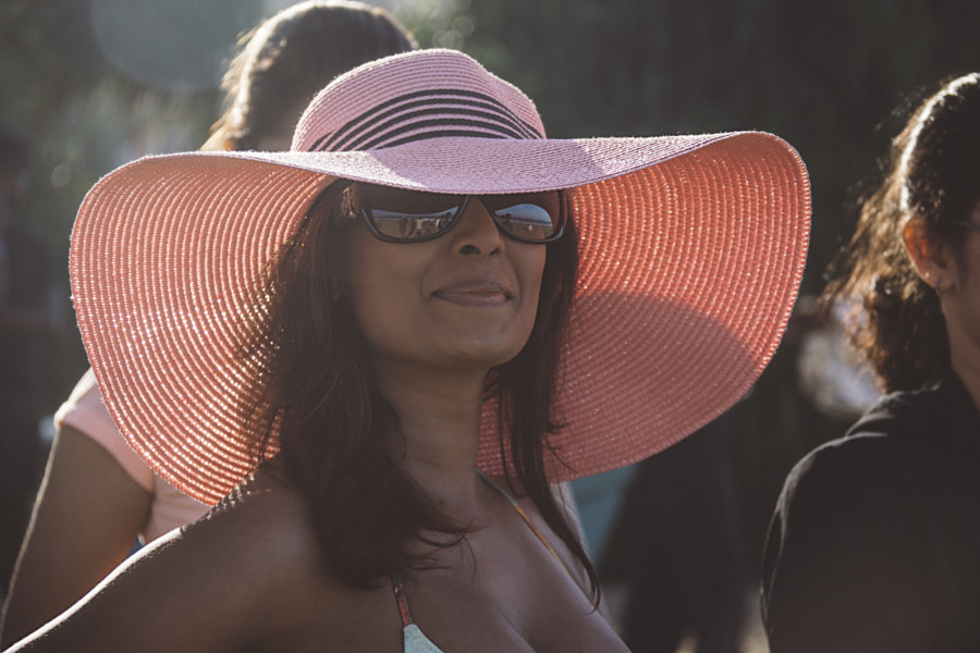 Photograph The Woman in the Pink Hat by Son of the Morning Light on 500px