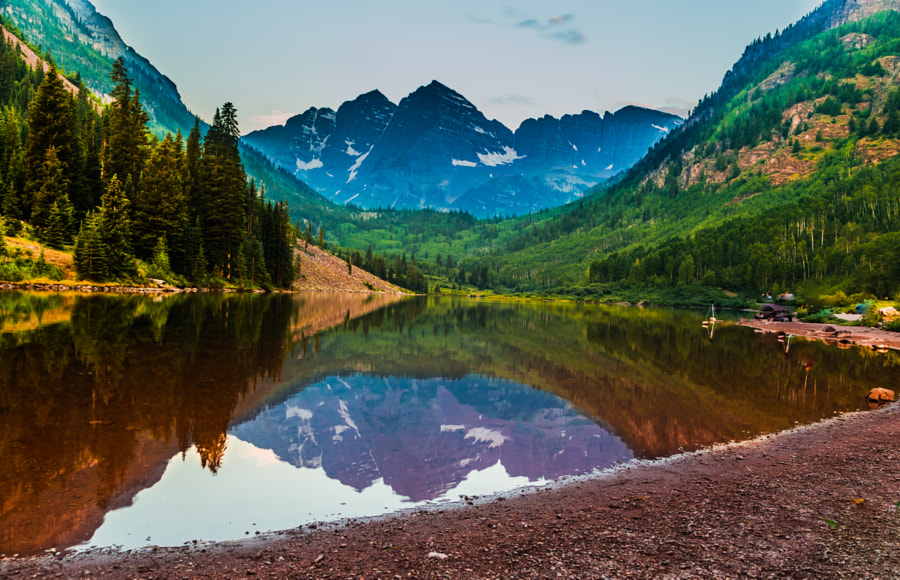 Aspen Before Sunrise  by Ahmad Kamal on 500px.com