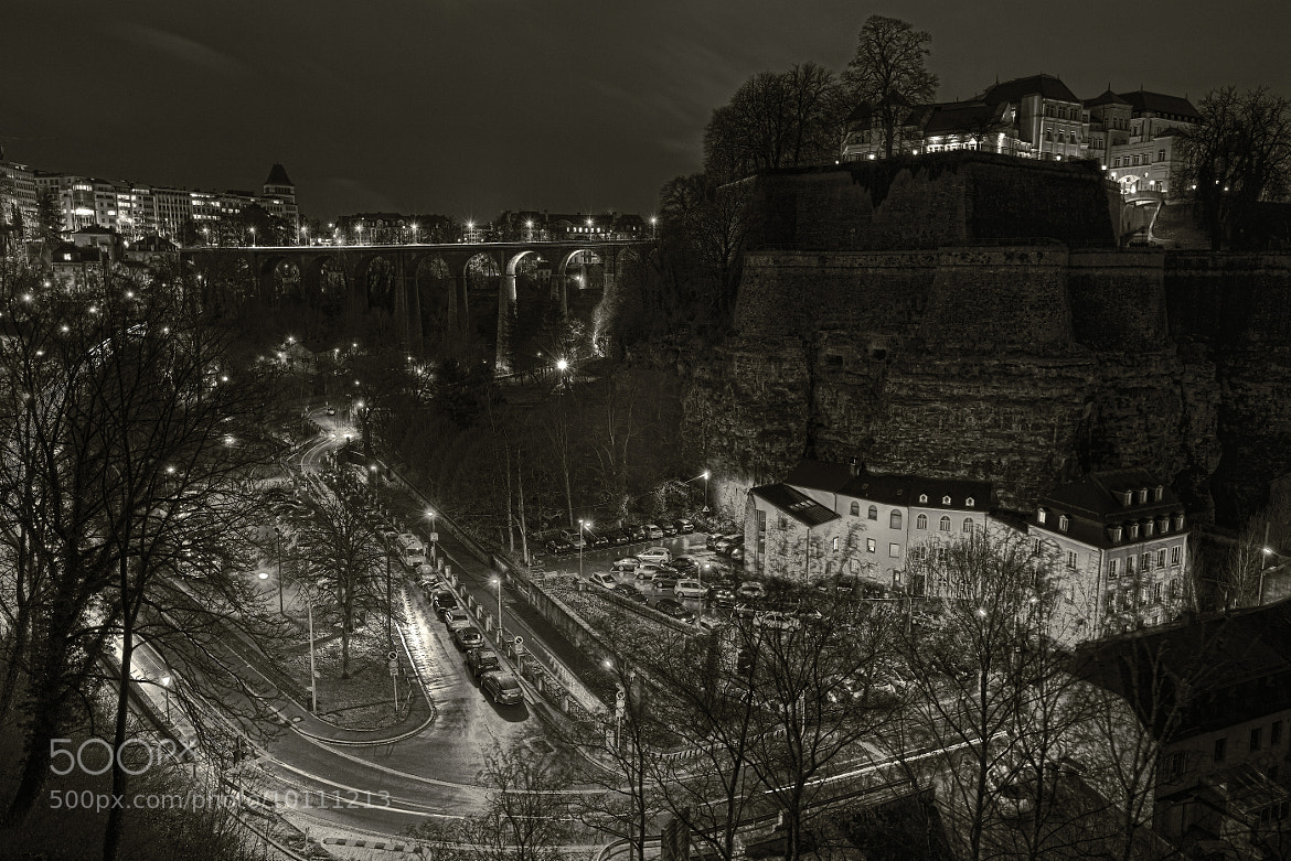 Photograph Luxembourg at night by Christophe Pfeilstücker on 500px