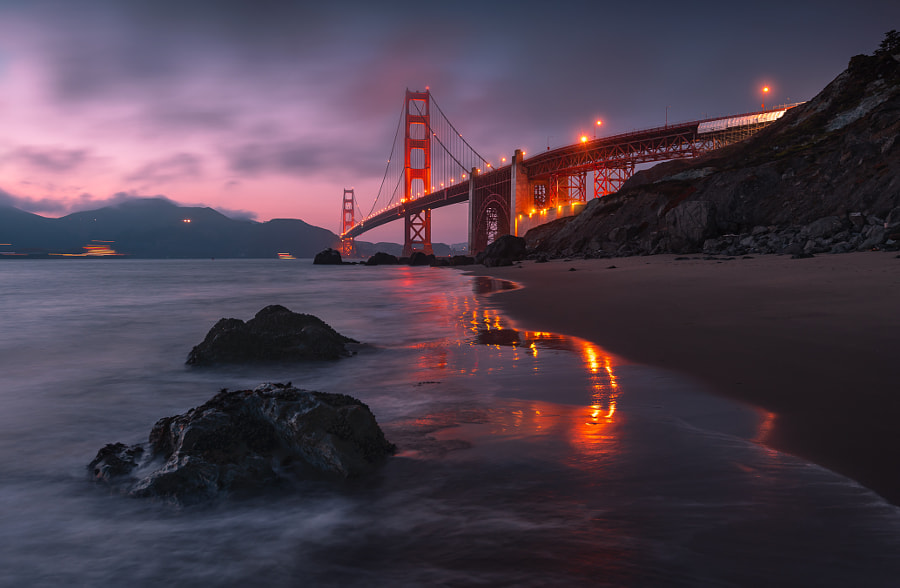 Golden Gate Bridge  by Rudy Serrano on 500px.com