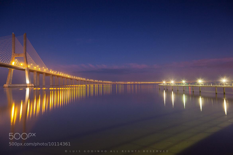 Photograph Ponte Vasco da Gama by Luís Godinho on 500px